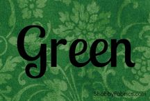 Color Inspiration | Green / by Shabby Fabrics