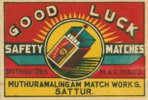 Vintage MATCHBOX Labels / by RedSeaCoral