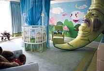 Baby room ideas / by Kristen Wagner