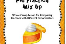 Teaching Math- Fractions / by Michelle Ownby White
