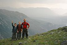 Hiking with Kids / by WALK SIMPLY Outdoors, Hiking, Walking, Play