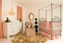 "Glamorous Nursery Ideas / We're pinning design ideas sparked by all things glamorous! Project Nursery, Creative Juice, Stroller in the City, Rockabye Mommy and Spearmint Baby have teamed up to collaborate on a Glamorous Nursery Ideas pinboard. Join us Wednesday, October 8th at 6pm PDT / 9pm EDT for a party full of ""pinspiration.""  / by Project Nursery 