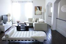 Home-Living Rooms / by Paula Toruño