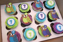 Gallery of Cute Owls & more / Collection of various bird cake & cupcakes / by Sheila Marie Matienzo