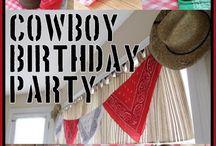 Cowboy birthday / by Jennifer Rhodes-Tullos