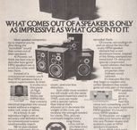Vintage Sound / Audio Ads and Equipment from days past / by Parts Express