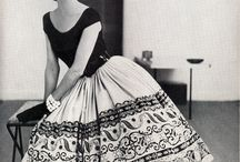 Vintage Fashion/HC / All kind of inspiring images from vintage fashion / haute couture from the old days.  / by IP Styling