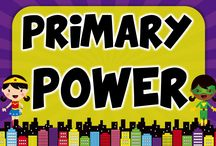 Primary Powers / A Collaborative Board for Super Teachers! / by Molly Lynch