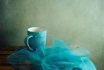 Aqua, teal & turquoise... LOVE / by Jill Stoddard