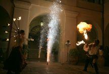 """Cyrano e don Chisciotte """"Utopia di un sogno"""" - Cena Medievale 2012 / di Castello Bevilacqua"""