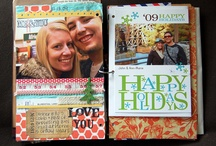 Scrapbooking Christmas Journals / by Sara