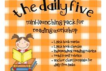Daily Five / Each year I continue to be amazed at how much the children LOVE Daily Five! / by Tanya Minton