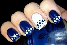 ♥BLUE NAILS♥ / by ♥SIRENA♥