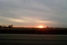 Sunsets are nature's dessert / by Brigett Cavanaugh Peterson