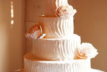 Cakes: Buttercream Wedding / NOT my work. Just gorgeous cakes I love. / by Sheena House