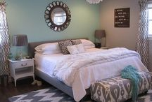 Mint and Grey-Kate's Room / by Kelly Kersey