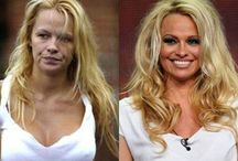 CELEBRITIES WITH.OUT MAKEUP  / by ♥nelly♥