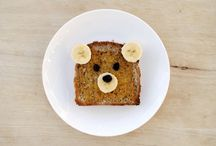 Fun Food 4 Kids / Great cute foods I can put quickly together for my kids without left over scrapes of food to wonder what to do with! / by Angela Parish