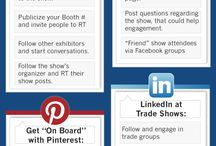Trade Show Marketing Tactics & Tips / How can social media & other marketing methods make an impact on your next trade show? #TSE wants to share a few tips with you! #TSE #TradeShowEmporium #TradeShow #Marketing #SocialMedia  / by Trade Show Emporium