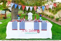 4th of July Ideas / by A to Zebra Celebrations ~ Nancy ~