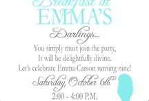Invitations / by Tammy Mutter