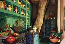 Interiors / by Kathy Dietkus