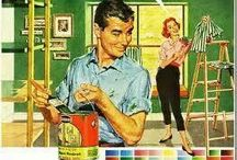 Vintage Paint Ads / A board dedicated to commercial paint ads from generation's past. / by Paint-Right Painting