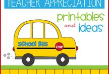 teacher appreciation printables and ideas / by Lauren McKinsey