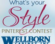 "Wellborn Cabinet ""What's Your Style"" / by Johna DeRosier"