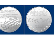 APMEX All American Design Challenge Finalists / Vote for your favorite design. The voting on Facebook https://www.facebook.com/APMEX  begins on Sept. 4, 2013 and runs through Sept. 13, 2013. Everyone who votes on Facebook is entered to win a 1 oz Silver round with the winning design.  The winner of the 2013 All America Design Challenge will be announced on or around Sept. 19, 2013. The winner will also receive an all-expenses paid trip to APMEX in Oklahoma City to collect your prize. / by APMEX