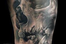 NIce Skull tattoos / by Ugga Dugga