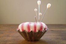 Pin cushion  / by Maud Rolland