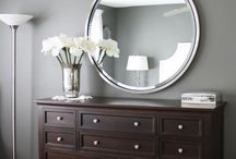 Gray Designs / Home designs in gray shades  / by Renee Whitaker