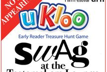 uKloo at TIFF 2013! / uKloo was selected as a featured SWAG Bag item at the Toronto International Film Festival! Here's a selection of the stars who are playing uKloo! / by uKloo Kids Inc.