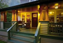 Porch Ideas / Compilation of ideas for front porch / by Kelly Grassman