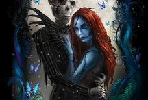 Nightmare Before Christmas / Jack, Sally and favorites from Halloween Town! / by Dani Liddell