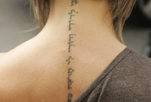 tatoos / by Melinda Hebner