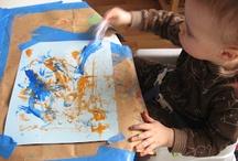 Preschool Art / by Moms Little