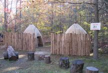 Natural Playscapes / This beautiful natural playscape was created by an eagle scout as his project. / by Adkins Arboretum