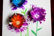 Egg box craft ideas / by Cat Price
