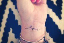 Tattoos / by Jess Lourie