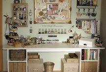 Craft Room Ideas / by Melanie Sparks
