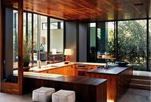 Rooms  / Living , kitchens, and bedroom spaces / by Caleb Boulier