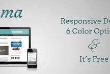 Blog: Responsive Genesis Themes / by TheNerdyNurse