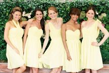 Bridesmaids dresses / by Bethany Merold