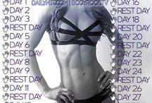 Body rock challenge / by Brittany Satyshur
