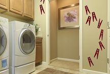 laundry rooms / by Amanda Leimbach
