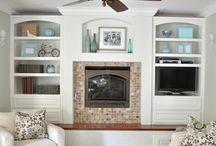 Home ~ Living/Family Room / by Kati Braden