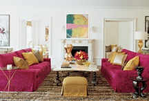 Safavieh Color Story: Pink / Safavieh's 2012 color story: deep pinks from raspberry to mulberry and strawberry in furniture, rugs and decorative accessories / by Safavieh Official