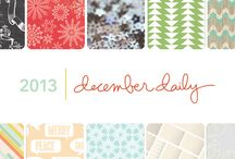 December Daily with Ali Edwards 2013 / by Studio_Calico